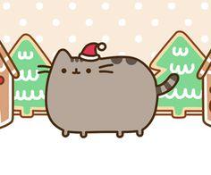 Pusheen at Christmas time!