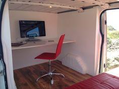 Combi-Oficina: Para trabajar y viajar al mismo tiempo. ||| Genial!
