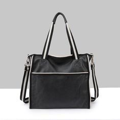 """""""Designer Inspired"""" Practical Leather Shopping Bag / Tote https://largepurseshop.com/collections/ladies-leather-handbags/products/designer-inspired-practical-leather-shopping-bag-tote"""