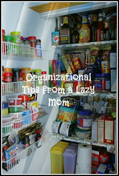 Home organization tips!