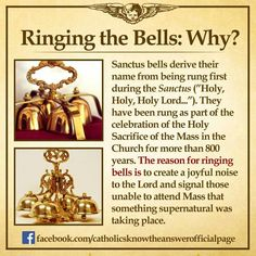 Ring the bells during Catholic mass