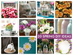 20 Spring DIY Ideas! -- Tatertots and Jello
