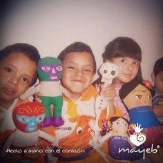 Estos encantadores hermanitos son super FANS de Mayeb® ¡Gracias por apreciar lo hecho a mano con el corazón!