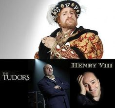 Omid Djalili's portrayal of tudor King Henry VIII of England, ...