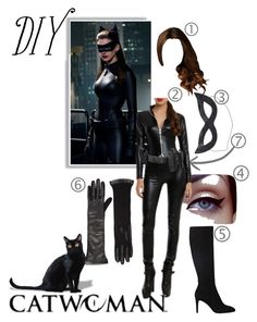 A fashion look from October 2014 featuring over-knee boots, opera gloves and police belt. Browse and shop related looks. Diy Catwoman Costume, Police Accessories, Character Halloween Costumes, Diy Costumes, Woman Costumes, Wonder Woman Art, Jason Todd Batman, Justice League Wonder Woman, Fandom Fashion