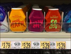 Water Flavoring Fight Gets Ugly – Fixtures Close Up Divider Design, Being Ugly, Cleaning Supplies, Packaging Design, Close Up, Retail, Shapes, Canning, Crystals