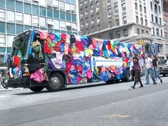 """All Laundry Detergent Bus Advertisement campaign """"How much can one small bottle clean?"""" was part of a 2006 guerrilla campaign where Manhattanites had to spot the bus to participate. Street Marketing, Guerilla Marketing, Guerrilla Advertising, Clever Advertising, Bus Ride, Car Brands, Car Wrap, Fast Cars, Vehicles"""