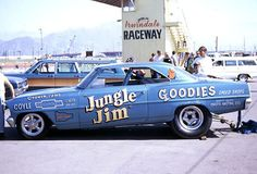 """Jungle Jim"" 67 Chevy Nova funny car"