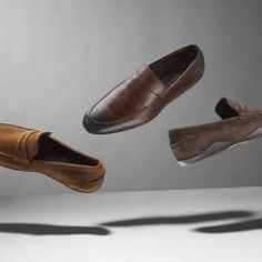 British heritage brand Aquascutum has collaborated with British shoemaker and accessories brand Harrys of London to create a footwear collection featuring three pairs of men's shoes