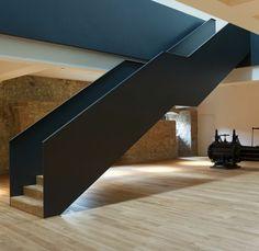 ArchDtl > Stair / Museum Rüsselsheim by Heinrich Böll Architekt.