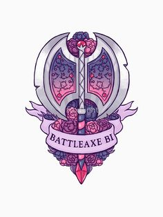I'm a little jealous as a blade and ax loving pansexual Sou Bi, Pansexual Pride, Lgbt Community, Gay Art, Gay Pride, Gotham, Random, Saga, Pride Tattoo