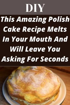 This Amazing Polish Cake Recipe Melts In Your Mouth And Will Leave You Asking For Seconds Czech Recipes, New Recipes, Favorite Recipes, Hacks Diy, Food Hacks, Cooking Hacks, Polish Desserts, Polish Food
