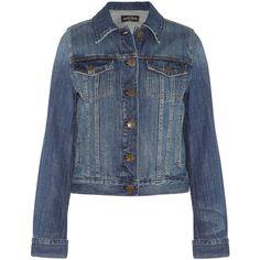J.Crew Nolita denim jacket ($128) ❤ liked on Polyvore