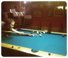 Sexy Pool Shark ---Norman Reedus twitpic