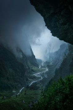 Descent to Rivendell, France, by Enrico Fossati, on 500px.