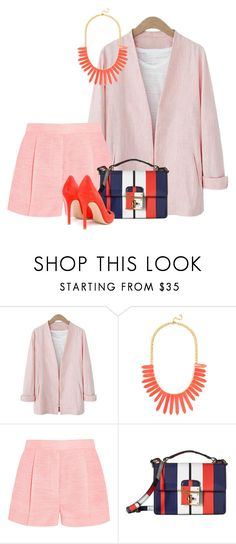 """""""№895"""" by a2k2011 ❤ liked on Polyvore featuring BaubleBar, STELLA McCARTNEY, Dolce&Gabbana and Gianvito Rossi"""
