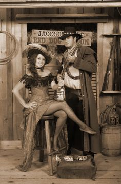 Have your photo taken at Red Velvet Swing Old Time Photo Studio