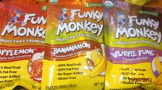 FMS review by Woman of Many Roles: Feed Your Monkey Some Funky Monkey Snacks!