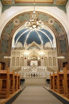 Shuls (This one is the LARGEST SYNAGOGUE IN GERMANY and it is in EAST BERLIN)
