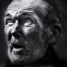 Impressive Black and white Portraits of the People at the Margins photo