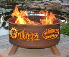 Florida Gators Fire Pit: Pinned for @Stephanie Bennett and @Melanie Carter - Here is a Christmas gift idea for you!!