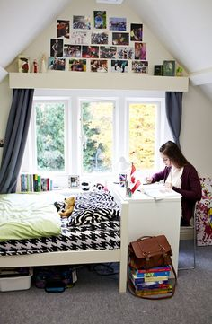 Get a glimpse of a single room offered at our Oxford campus! #roomdecoideas