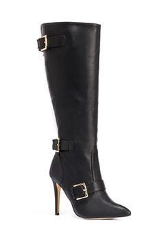 The sexy buckled Amaya boots by JustFab