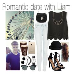 """Date with Liam"" by fakeverahoran ❤ liked on Polyvore"