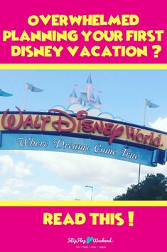 If you are stressed and overwhelmed with your Disney vacation planning, allow me to give you some encouragement and tips on how to take a breath, slow down and truly enjoy the memories you will make on your next magical family vacation.