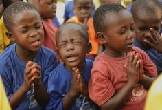 praying with passion ... one of the many reasons Jesus loved the children and preached for adults to have child-like faith