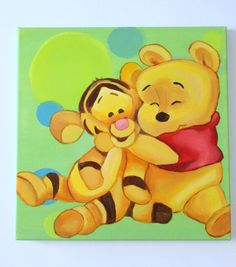 Winnie the pooh and the Tiger too!