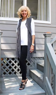 casual outfits for summer for older women | Shrug, yet another must have outfit staple to add that new look to ... #womenclothingoutfits