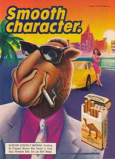 Sex in advertsising joe camel
