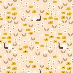 147505 Sunday Stroll | Pink Quilter's Cotton from Park Life by Elizabeth Olwen for Cloud9 Fabrics