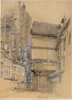 Pre Raphaelite Art: John Ruskin - Abbeville 1852