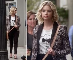 hanna marin style season 3 | Get The Style from Pretty Little Liars Season 3, Episode 17