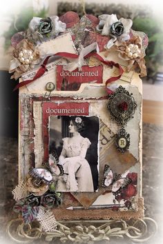 Reneabouquets Design Team Pocket Journal created by: Renea Harrison Items from Reneabouquets.com and the Reneabouquets Etsy: Precious Keepsakes Glitter Glass Butterflies Sewn Pocket Journal Base Crochet Lace #002 Baroque Frame Set Timeless Rhinestone Button In Gold Tim Holtz Vintage Photo Distress Ink Tim Holtz Vintage Photo Spray Stain Tim Holtz Rock Candy Distress Crackle Paint Prima Metal Trinkets Timeless Recaptured Alphas Reneabouquets Key Trinkets http://www.Reneabouquets.com