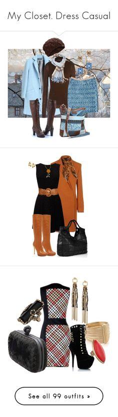 """My Closet. Dress Casual"" by cassandra-spann ❤ liked on Polyvore featuring Antipodium, UGG Australia, Neil Barrett, By Malene Birger, UNIONBAY, Burberry, Oscar de la Renta, women's clothing, women and female"