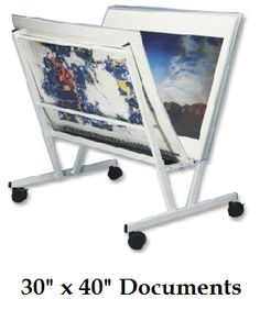 "Floor Poster Display (30"" x 40"") Includes: 15 Poster Sleeves"