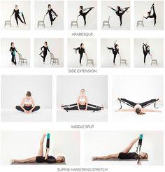 Flexistretcher FS1 - Original Flexistretcher Dance Training Flexibility Stretch Band - Accessories - Exercise & Training - Dancewear Centre Canada