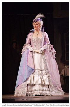 Costume from Der Rosenkavalier.  Click on the picture for more info.