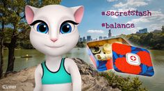 Balance. Don't forget to have fun and indulge yourself every now and again. xo, Talking Angela #talkingangela #mytalkingangela #LittleKitties