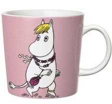 "Pin for Later: 45 Gifts That Say ""You're My BFF"" Iittala Finland Arabia Snorkmaiden Moomin Mug Moomin Shop, Moomin Mugs, Porcelain Mugs, Ceramic Cups, Ceramic Tableware, Tea Mugs, Coffee Mugs, Moomin Valley, Tove Jansson"