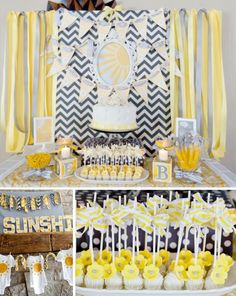 Baby Shower- Deco idea- colors