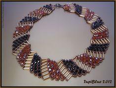 La pasión de TupiBlue: Collar Nefertari