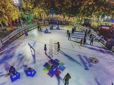 "From @tourdedrone - ""If you haven't checked out the @downtownsac_icerink I highly recommend it."""