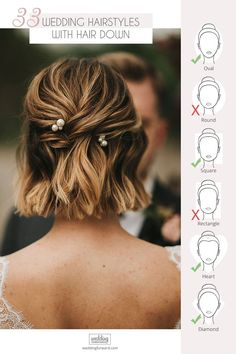 33 Wedding Hairstyles With Hair Down ♥ Wedding hairstyles with hair down are perfect for spring or summer celebrations. Have inspired with our wedding hairstyle ideas for hair down. #wedding #hairstyles #weddingforward #bride #weddingbeauty #weddinghairstylesdown #bridalhair Wedding Hair Down, Wedding Updo, Wedding Beauty, Wedding Makeup, Wedding Hairstyles For Long Hair, Down Hairstyles, Old Hollywood Glam, Hairstyle Ideas, Hair Hacks