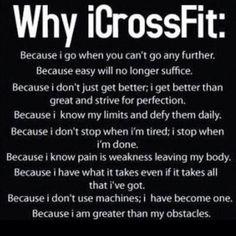 Why I #CrossFit