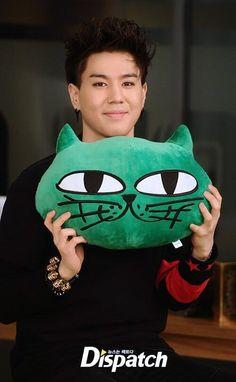 Yugyeom with Taecyeon's Okcat