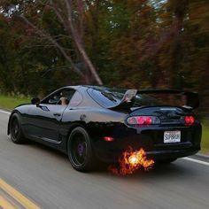 Toyota Supra Mk4, Toyota Cars, Toyota Hilux, Tuner Cars, Jdm Cars, Rich Cars, Car Goals, Japan Cars, Sweet Cars